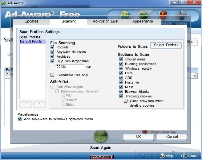 Screenshot برنامج Ad-Aware Internet Security 9.0.2 اداوير انترنت