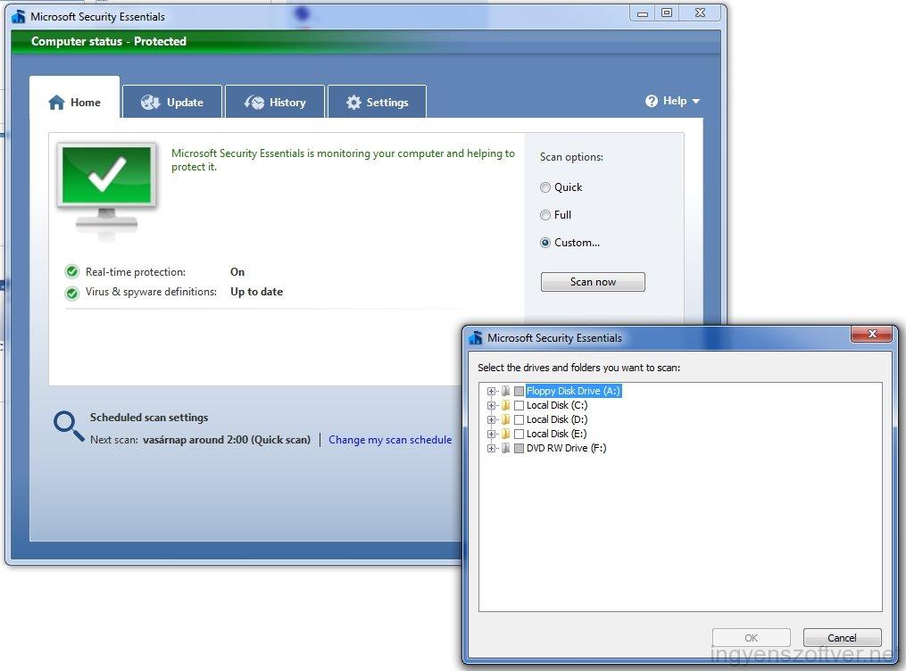 Microsoft Security Essentials XP Full Version Download