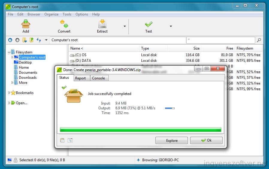 Peazip 3.9 for windows 64 bit